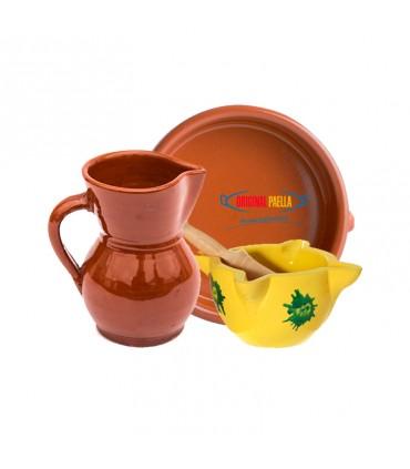 Cazuelas y jarras de barro