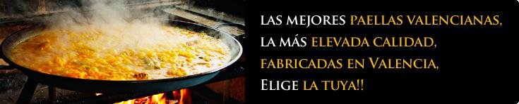 Recipientes para cocinar paella