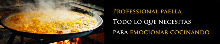Professional paella
