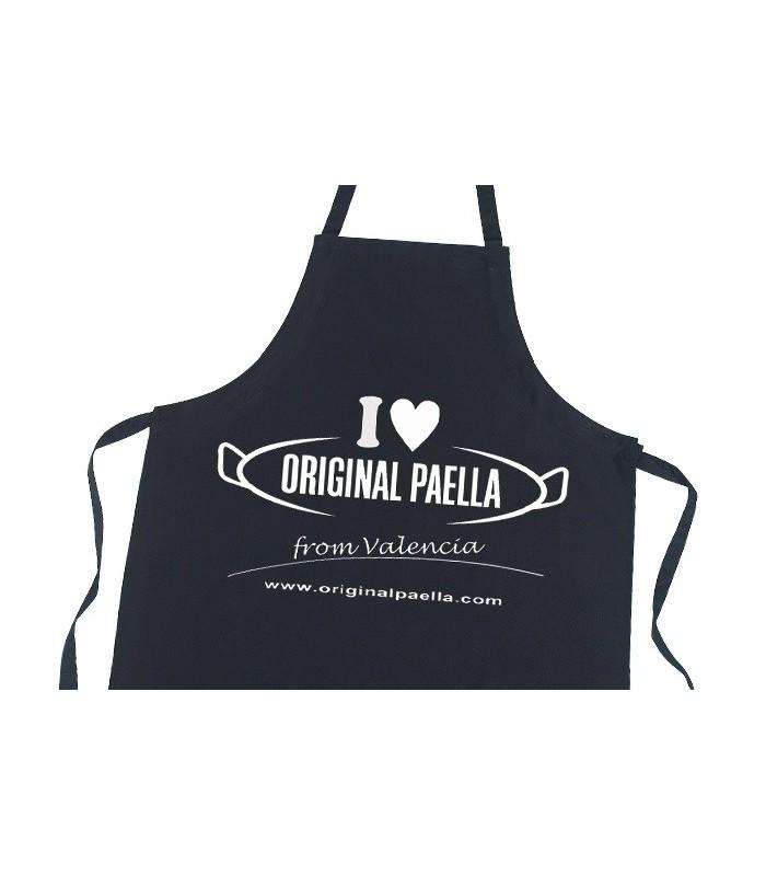delantal I love original paella from Valencia