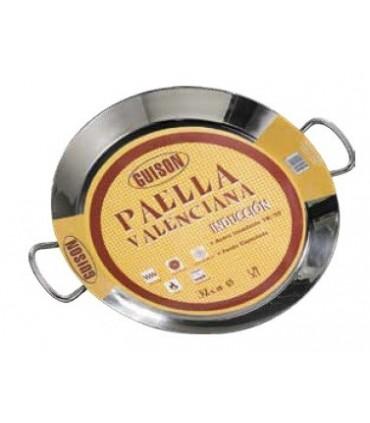 Paella inox inducción 50 cm para 9-14 personas