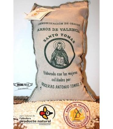 Saco arroz valenciano 1 Kg