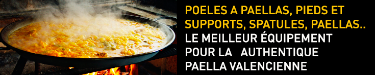equipement pour paella