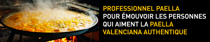 Professionnel paella pour emouvoir les personnes qui aiment la paella valencienne