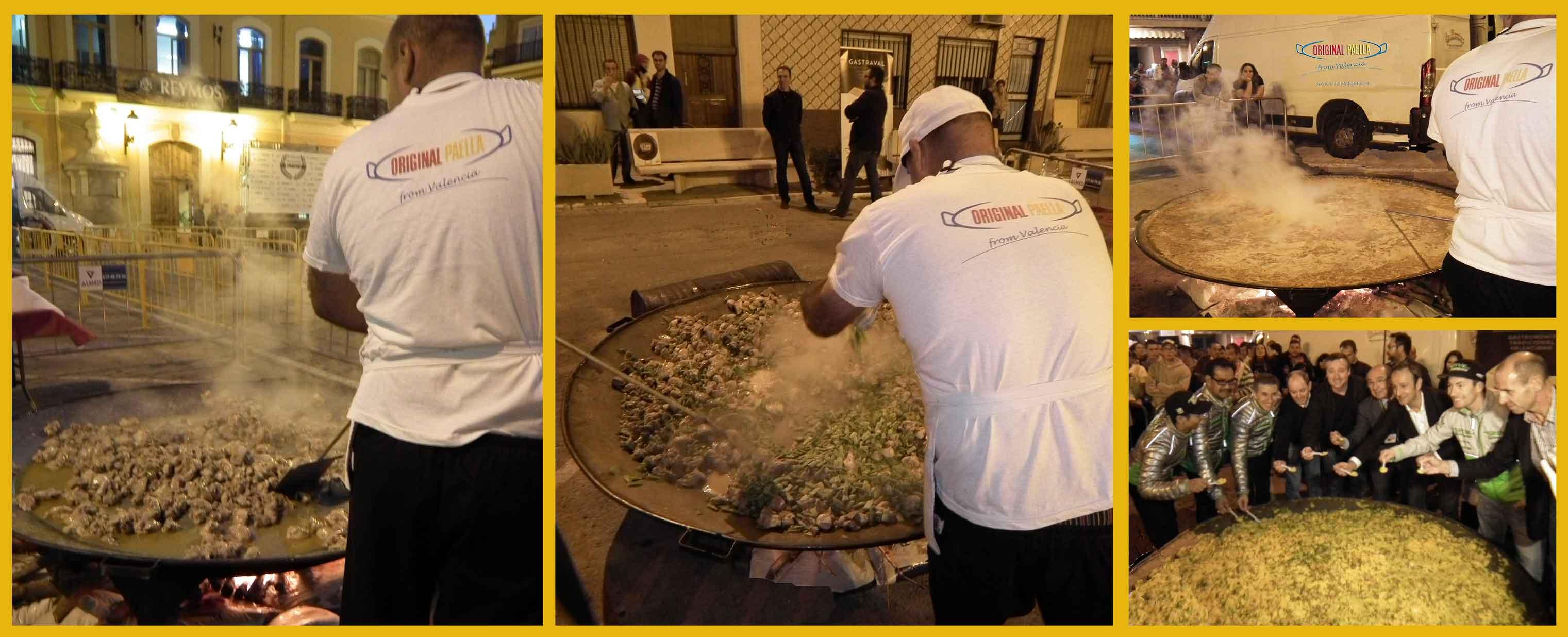 paella gigante GP cheste 2014