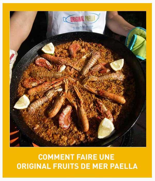 receta de paella de marisco paso a paso con fotografias, video y pdf descargable