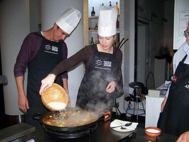 arroz curso de paellas