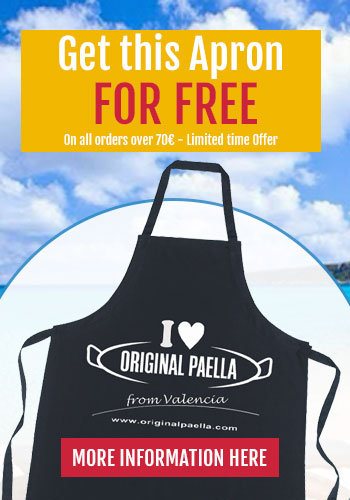 original paella apron for free