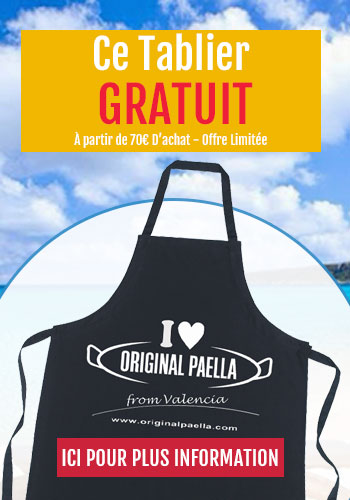 tablier original paella gratuit