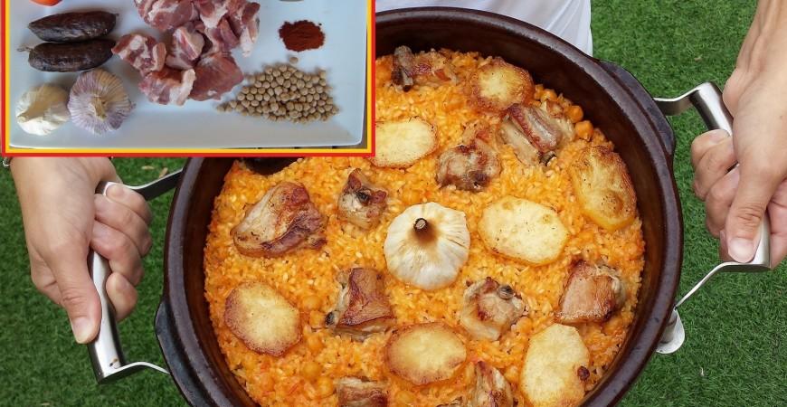 Guia facil arroz al horno